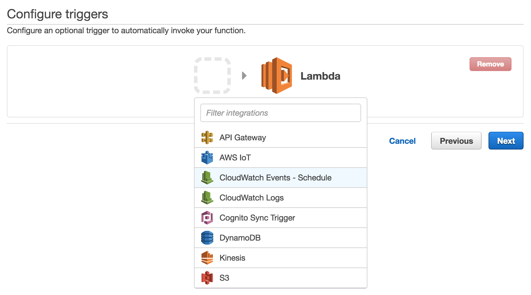 how to create aws lambda function