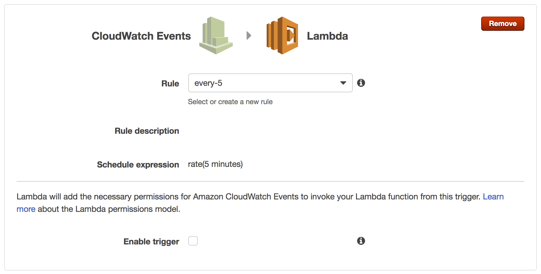 Live Cryptocurrency Monitor using AWS Lambda – Initial State
